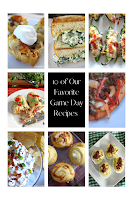 Favorite appetizers and comfort food perfect for game day! Hot and cold appetizers, burritos, sliders, pizza and more!