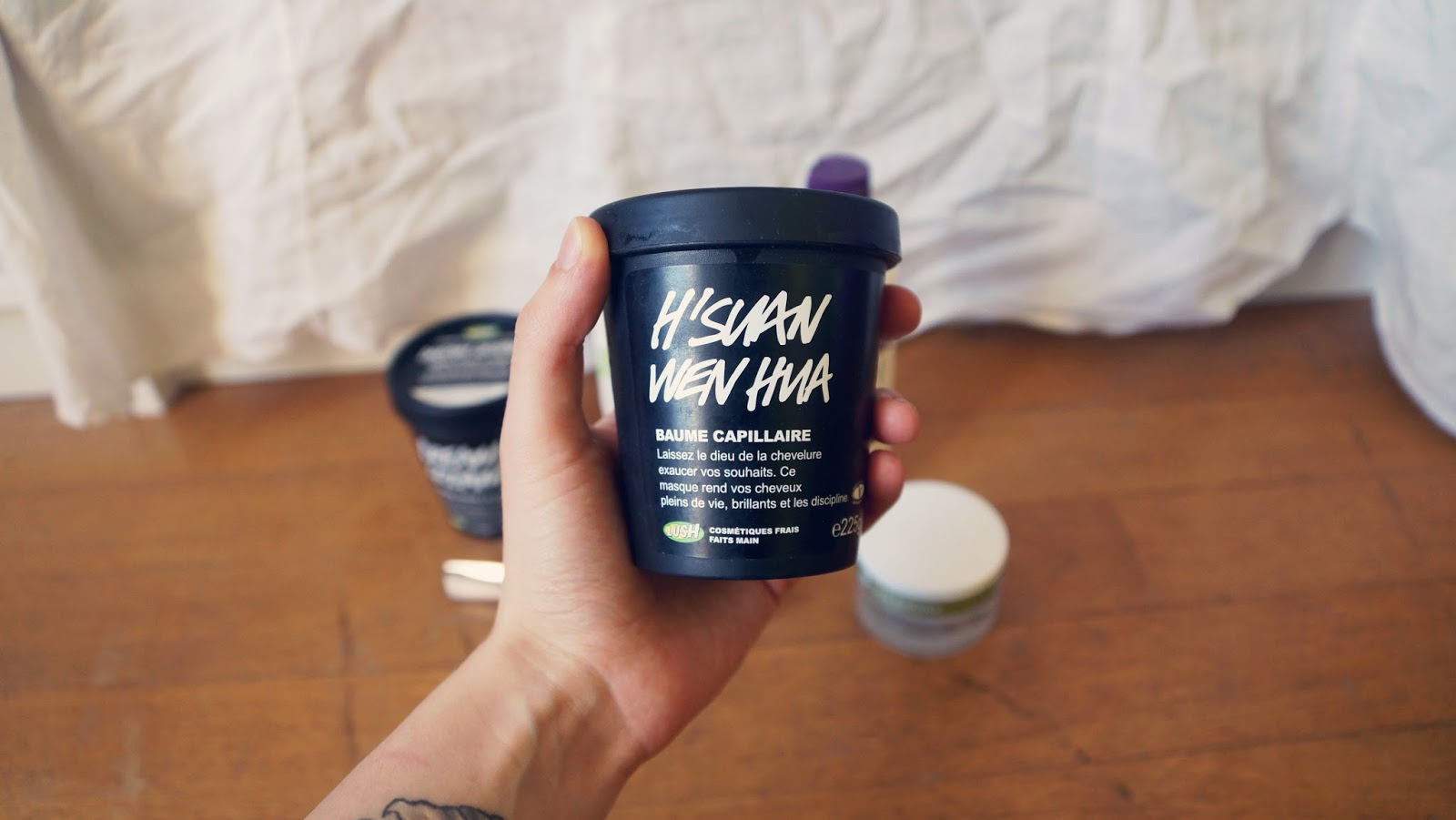 H'Suan Wen Hua Lush Hair Mask Review