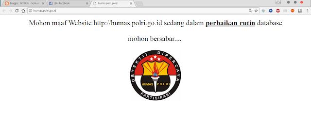 situs humas polri di hack anonymous