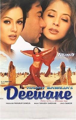 Deewane (2000) Hindi WEB HDRip 480p ESub x264 500Mb