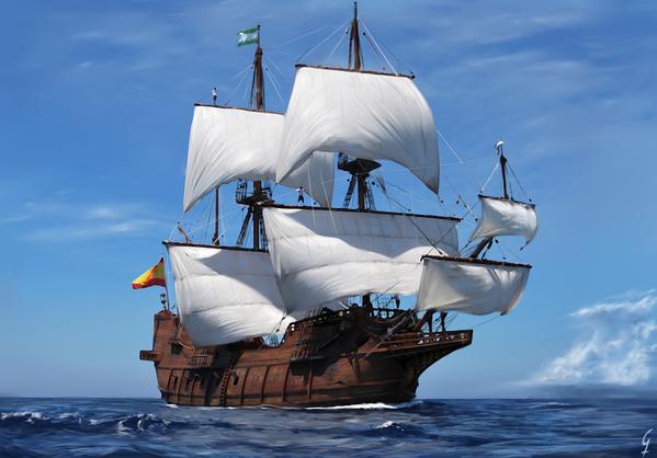 Resultado de imagem para veleiros do século xvi