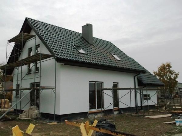 niedrogi dom drewniany szkieletowy
