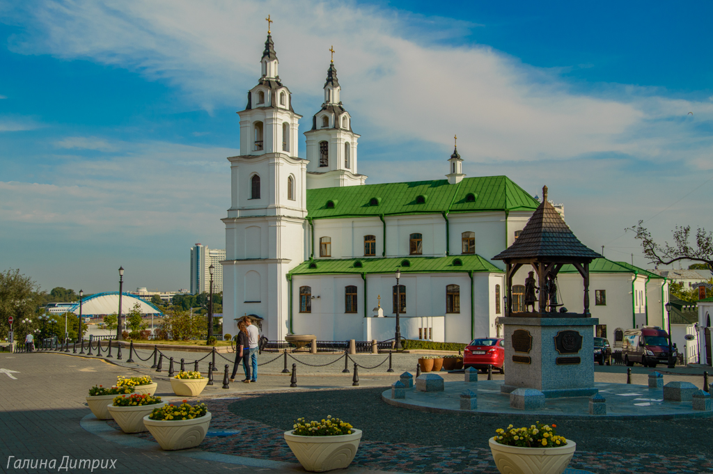 Кафедральный собор Сошествия Святого Духа Минск фото