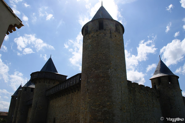 Mura dello Chateau Comtal