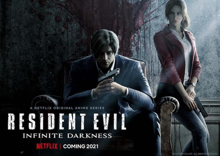 Netflix Revealed Resident Evil: Infinite Darkness Anime Series