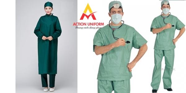 Mẫu đồng phục bác sĩ phòng mổ 4