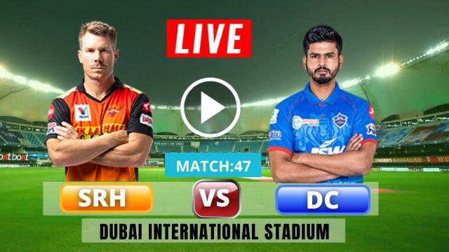Hyderabad vs Delhi, Live streaming online, MATCH 47,