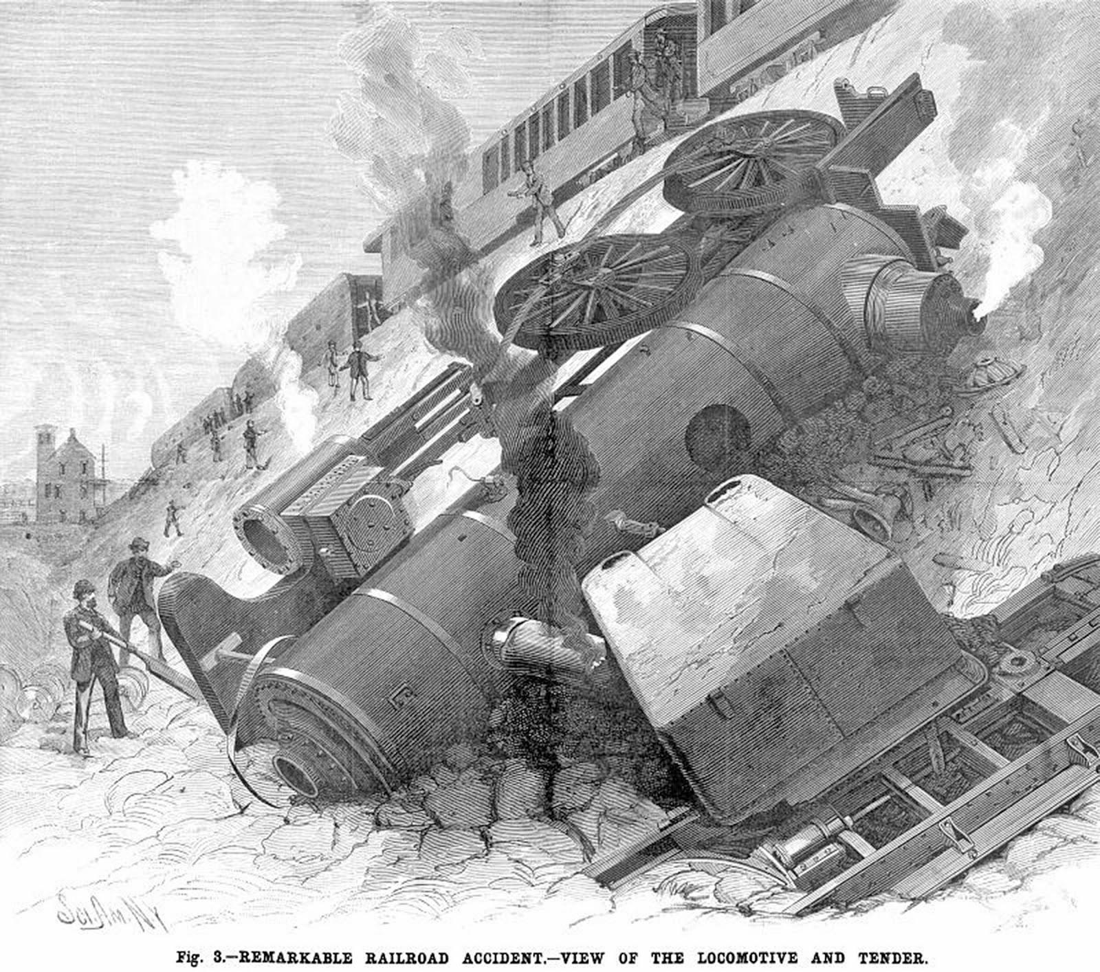 Historic pelham three more pelham train wrecks for The pelham