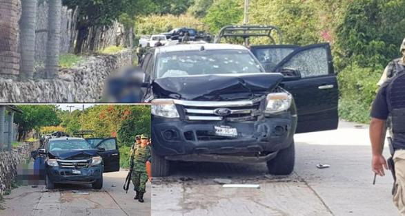 Así fue el día que Soldados se toparon con un convoy de Sicarios en Guerrero y 1 solo militar herido, abatió a 14 de ellos haciendo huir al resto de Sicarios