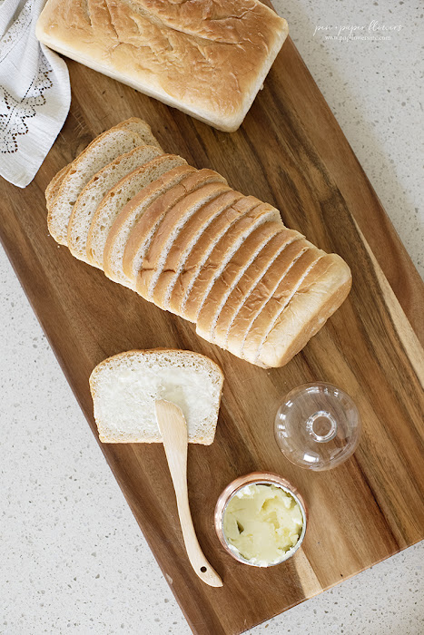 Homemade Classic White Bread Loaves