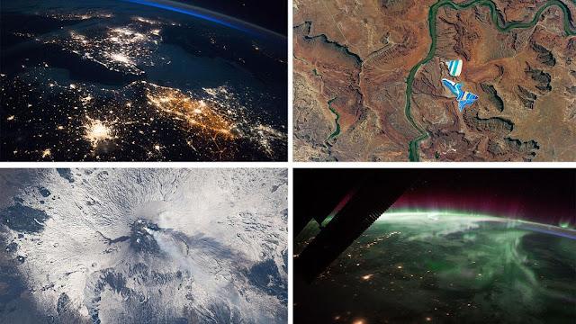Οι 17 καλύτερες εικόνες της Γης από το Διάστημα για το 2017 (βίντεο)