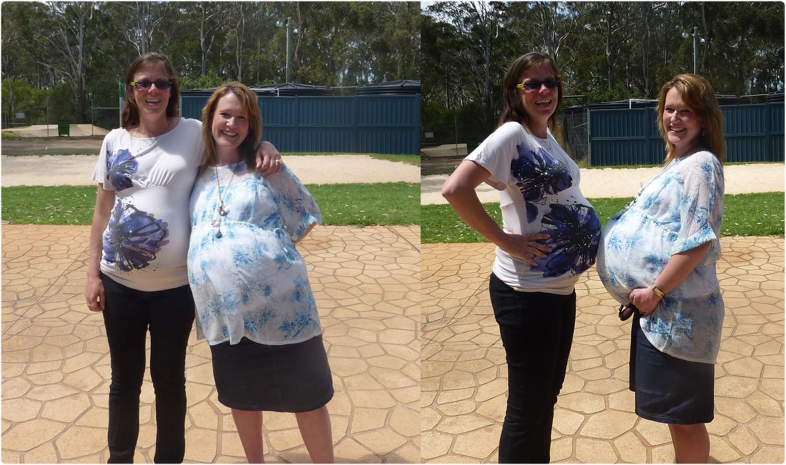 Triplet Pregnancy Journal - Week 32 - Caitlin's Happy Heart