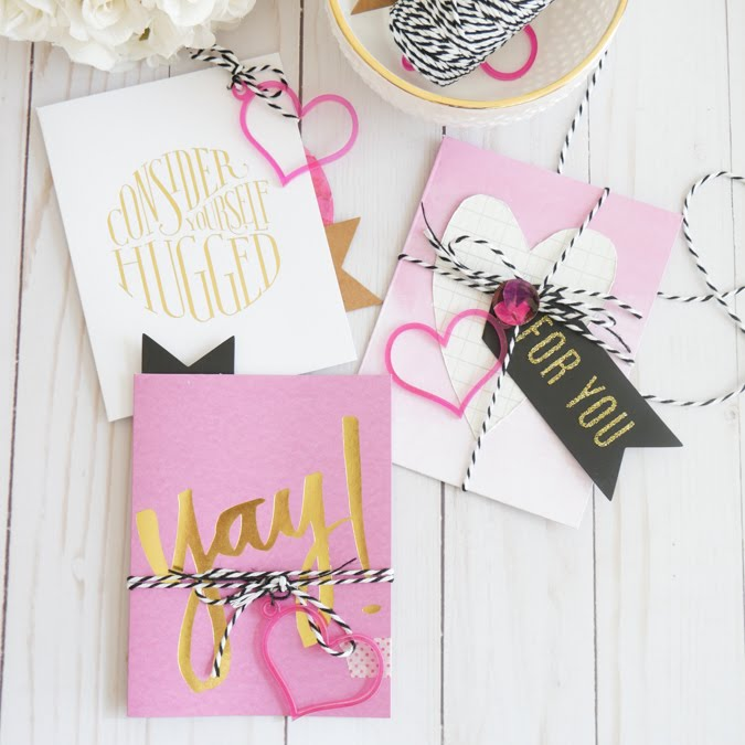 Send a Card To a Friend Day - Heidi Swapp Stationery Cards by Jamie Pate | @jamiepate for @heidiswapp