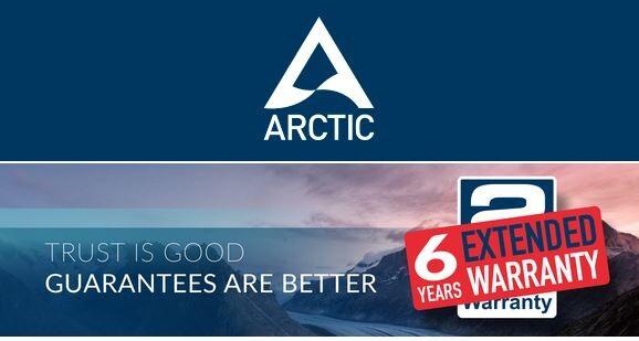Arctic - 6 yıl garanti sunuyor