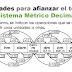 Actividades para trabajar el Sistema Métrico Decimal