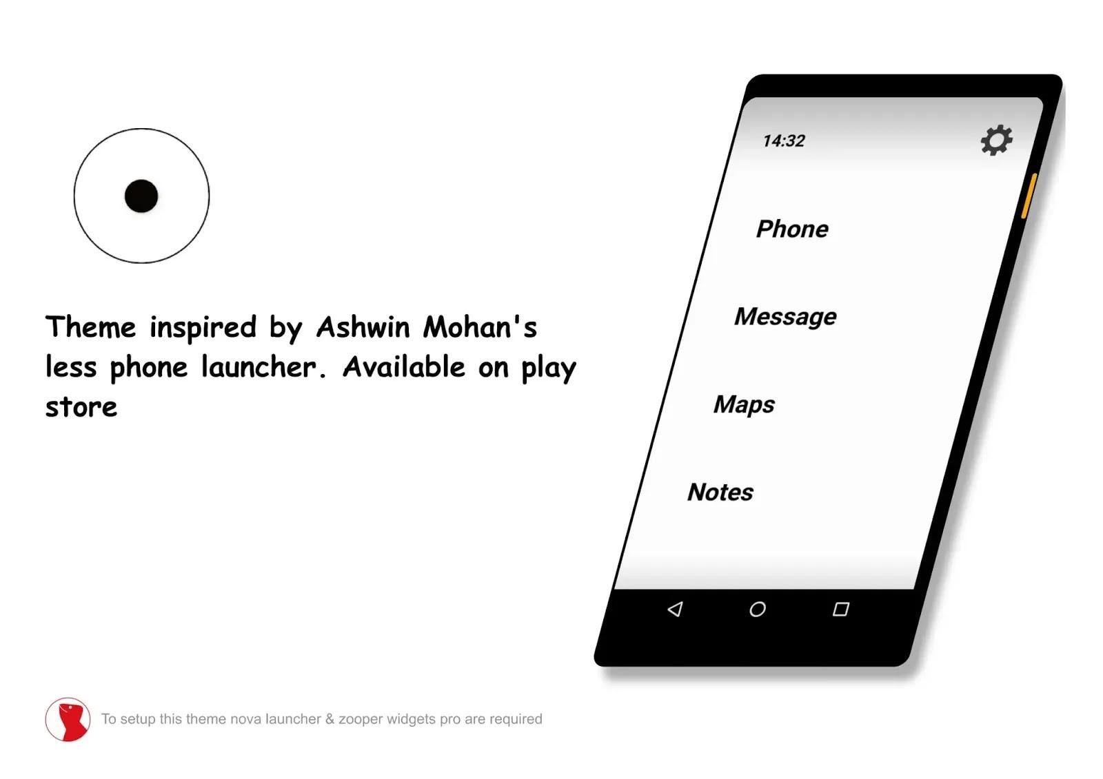 No phone theme for Nova launcher