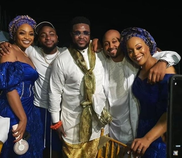 Davido Storms His Brother's Wedding In Calabar. Dangote Spotted (Photos, Video)