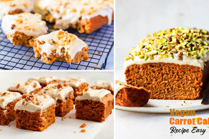 Vegan Carrot Cake Recipe Easy