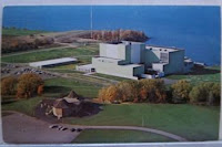 The Robert E. Ginna Nuclear Power Plant in Ontario, N.Y., avoided a shutdown with state funds. (Credit: fingerlakesdailynews.com) Click to Enlarge.
