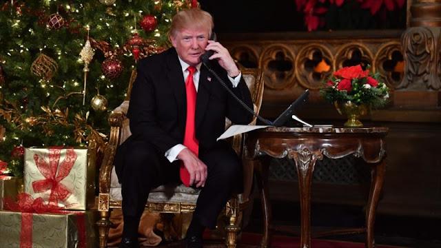 Trump genera polémica en Navidad por su retuit contra CNN