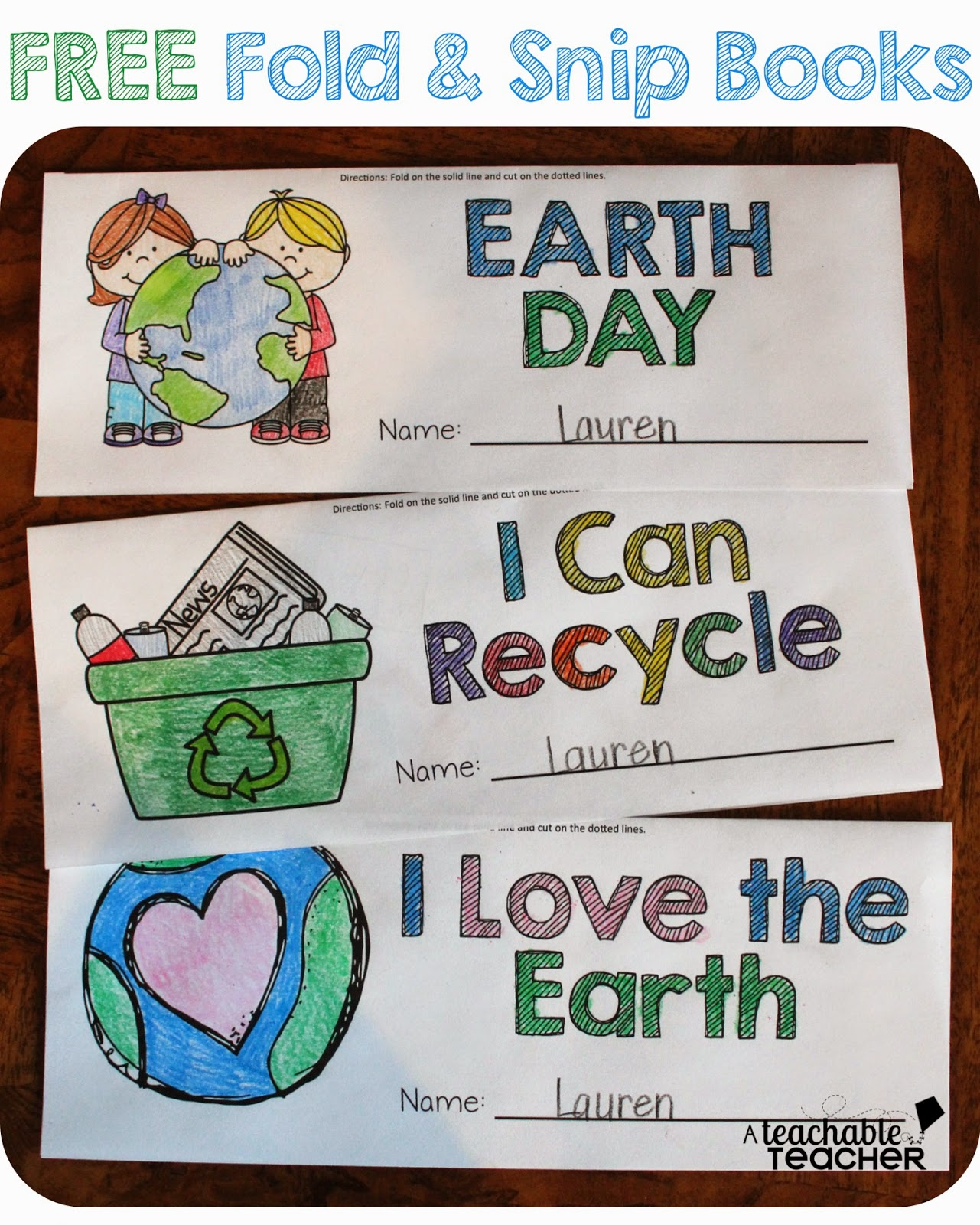The Primary Pack Earth Day Freebies
