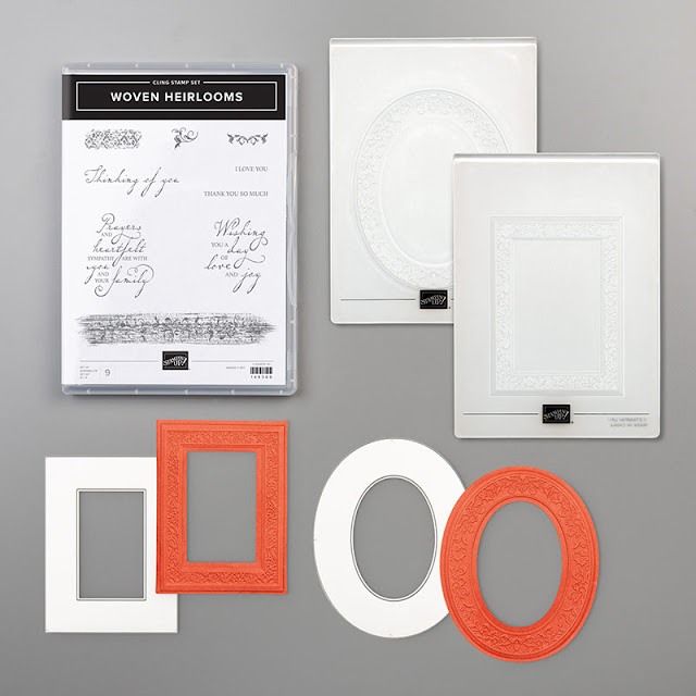 Craftyduckydoodah, WovenHeirlooms, Heirloom Frames Dies & 3D Embossing Folder, Susan Simpson UK Independent Stampin' Up! Demonstrator, Supplies available 24/7 from my online store,