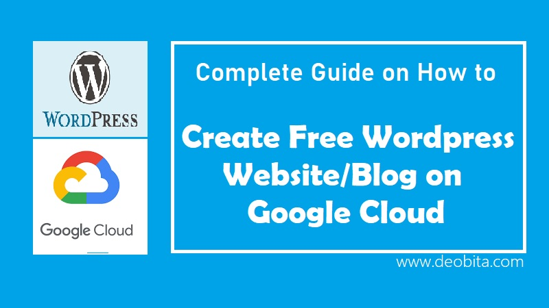 Create Free Website on Google Cloud