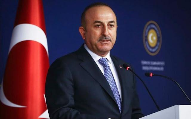 Τσαβούσογλου: Δεν ισχύoυν συμφωνίες στην Αν. Μεσόγειο χωρίς συμμετοχή της Τουρκίας