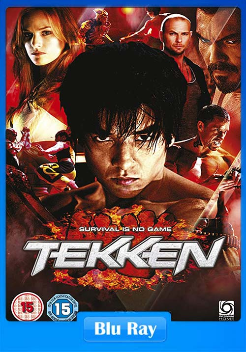 Tekken 2010 Dual Audio Hindi 720p BluRay x264 | 480p 300MB | 100MB HEVC