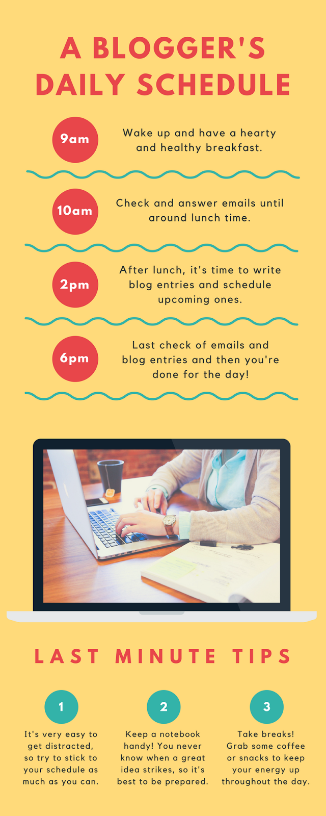 A Blogger's Daily Schedule