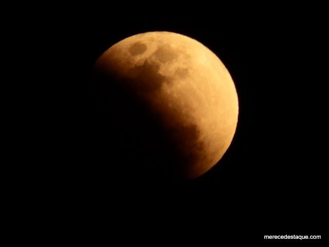 Eclipse lunar pode ser observado na noite desta terça-feira (16), no Agreste de Pernambuco