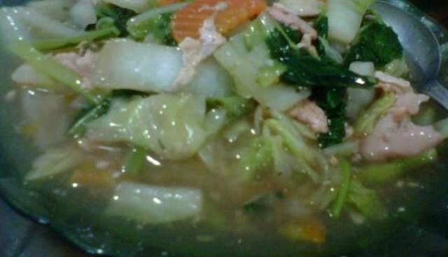 Resep Cap Cai Ayam Untuk Hajatan