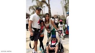 ظهور أسرة جمال مبارك كاملة للمرة الأولى