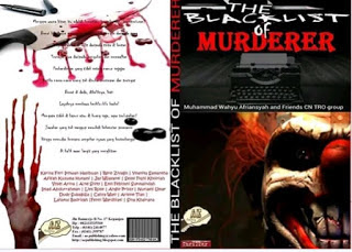 buku antologi thriller, cara menulis cerita thriller, buku the blacklist of murderer