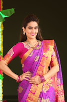 Anchor Manjoosha in Beautiful Kanjiwaram Saree at At Sankarabharanam Awards 2017 ~  Exclusive 001.JPG