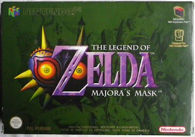 The Legend of Zelda - Majora's Mask - Caja delante