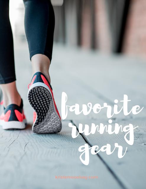 Favorite Running Gear | www.kristenwoolsey.com