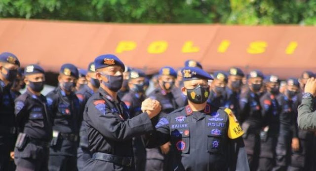 Brimob dari Daerah Mulai Dikirim ke Jakarta