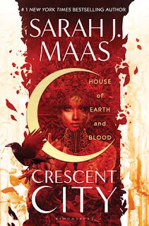 House of Earth and Blood by Sarah J Maas cover