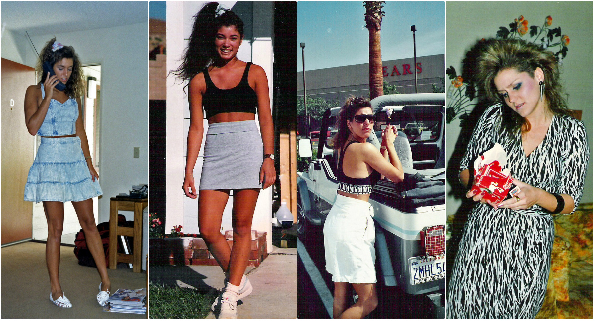 40 Cool Snaps Defined Fashion Styles of American Youth in the 1980s