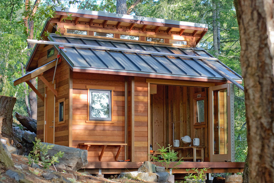 Tiny House Town: A Tiny House In The Woods Of Sonoma