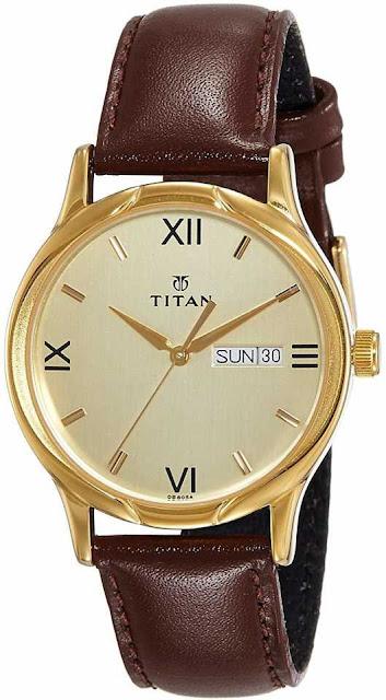 Titan NH1580YL05 Analog Watch