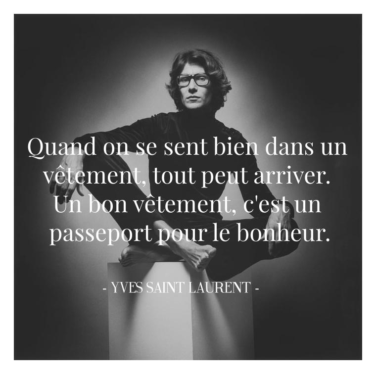 12 Citations D Yves Saint Laurent Que Vous Devez Connaître