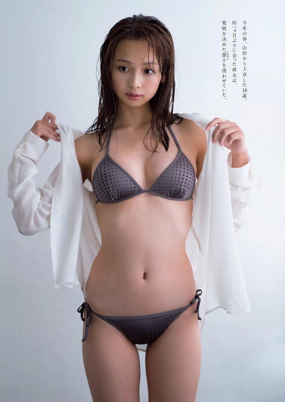 Asuka Hanamura 華村あすか, Weekly Playboy 2017 No.45 (週刊プレイボーイ 2017年45号)
