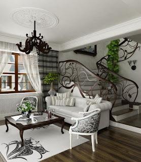 فن الآرت نوفو (Art Nouveau) للتصميم الداخلي