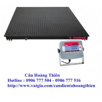 cân sàn điện tử Ohaus 1.5m x 1.5m