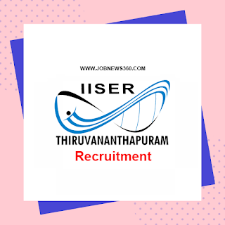 IISER Thiruvananthapuram Recruitment 2020 for Research Associate-I