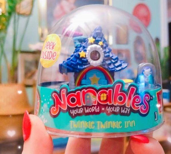 Nanables: мини-домики для кукол Nanos для девочек