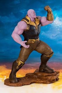 "Figuras: Abierto pre-order de Thanos ARTFX + de ""Avengers: Infinity War"" - Kotobukiya"