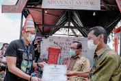 Menparekraf Sandiaga Resmikan Destinasi Wisata Adian Nalambok di Sumut